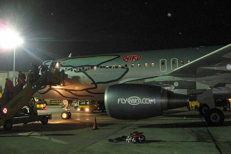Москва-Вена с авиакомпанией Niki