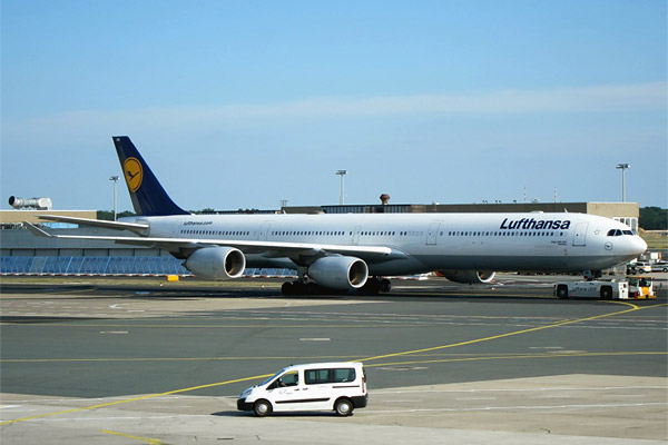 Flight reports of Airbus A340-600