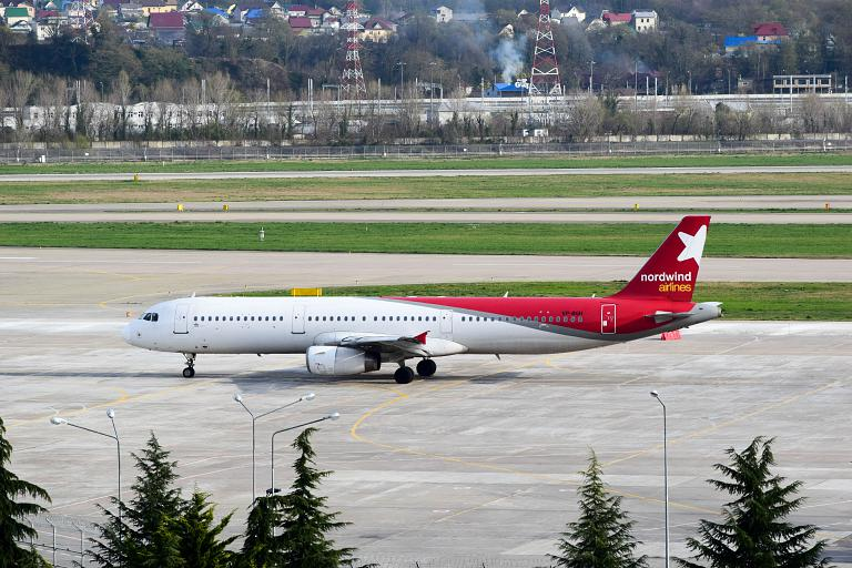 Москва-Екатеринбург, Nordwind Airlines, Airbus A321-232, VP-BGH