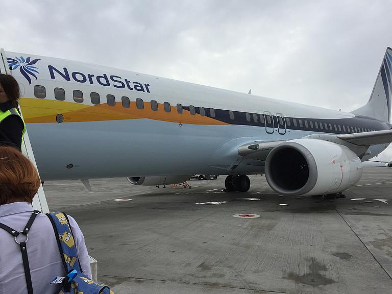 Nordstar'ом в Москву из Норильска
