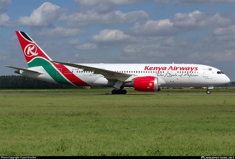 Фотообзор авиакомпании Кения Эйрвэйз (Kenya Airways)