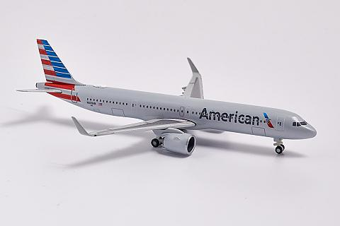 Herpa: модель самолета Airbus A321neo в масштабе 1:500