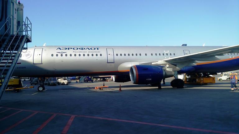 Аэрофлотом из Екатеринбурга в Москву на А321. Секретная столовая в Шереметьево