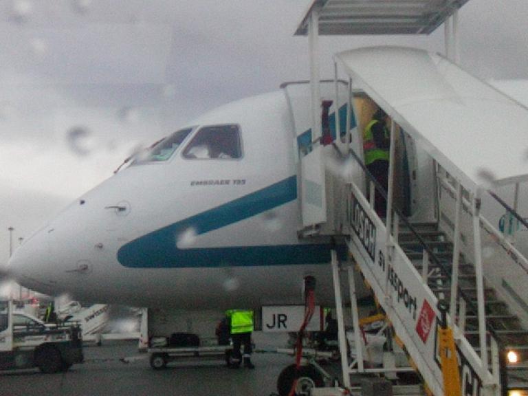 Полёт над Альпами на Embraer 195