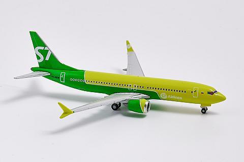 Herpa: модель самолета Boeing 737 MAX 8 в масштабе 1:500