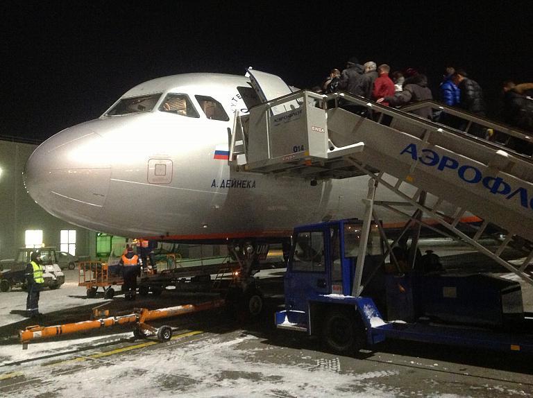 Полет с Аэрофлотом из Москвы в Калининград