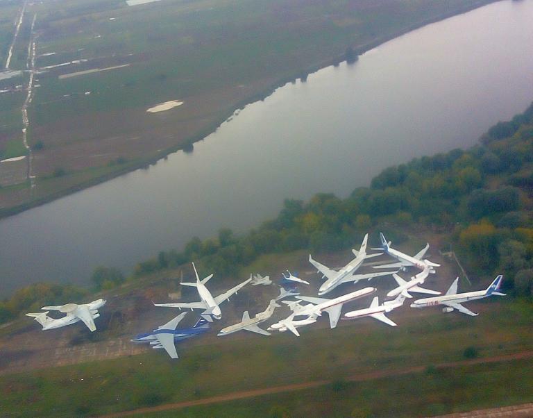 Жуковский - Прага Уральскими авиалиниями