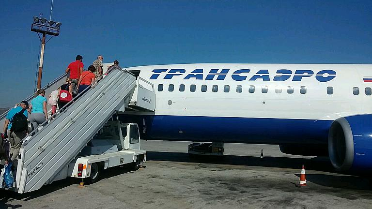 Кос-Москва с Трансаэро