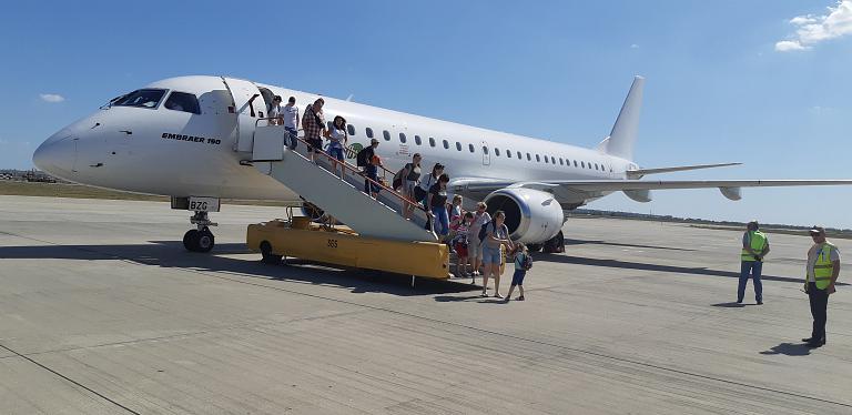Перелет Nordwind, они же Pegas fly на Embraer 190