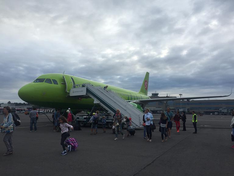 Погружение в зелень: Аликанте - Москва с S7