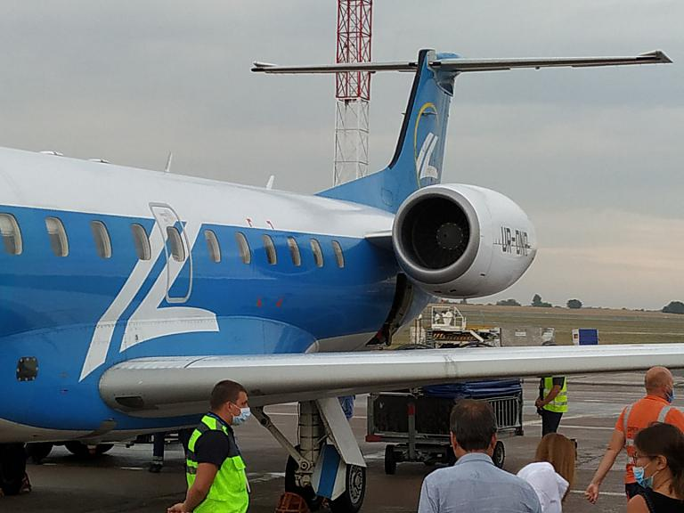 И всё таки он лучший! Запорожье - Киев на ERJ-145 Windrose.