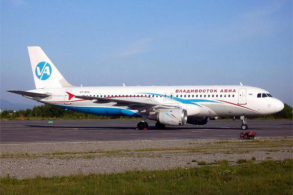 Новосибирск-Владивосток ВладивостокАвиа А320