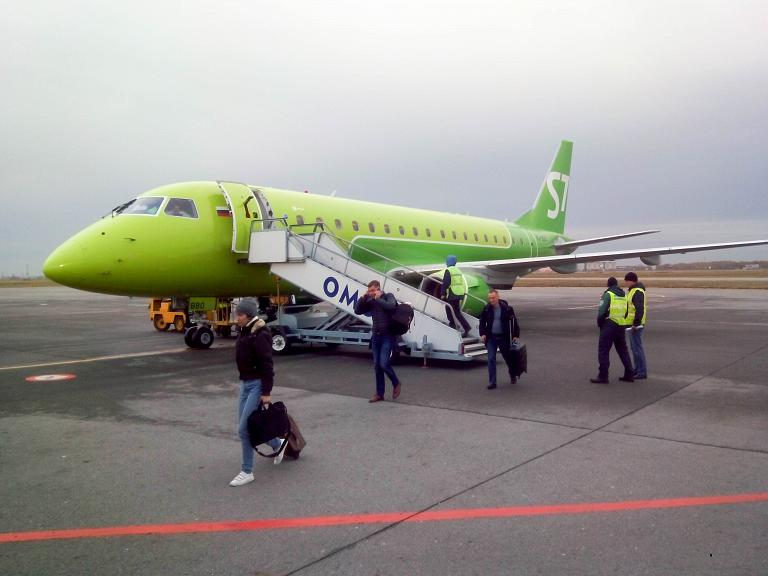 Новосибирск-Омск, S7 (Сибирь), Embraer ERJ-170LR, VQ-BBO