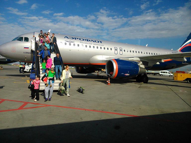 Фотообзор аэропорта Сургут