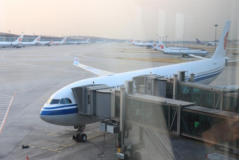 На Дальний Восток через Китай. Часть 1. Air China A-330-300, Шереметьево - Пекин-Шоуду-3.