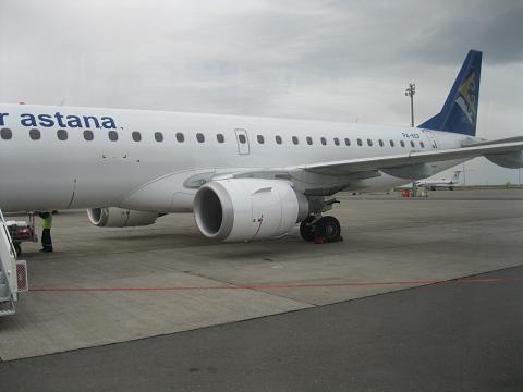 Фотообзор авиакомпании Эйр Астана (Air Astana)