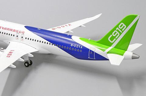 Comac C919. Модель самолета JC Wings LH2223