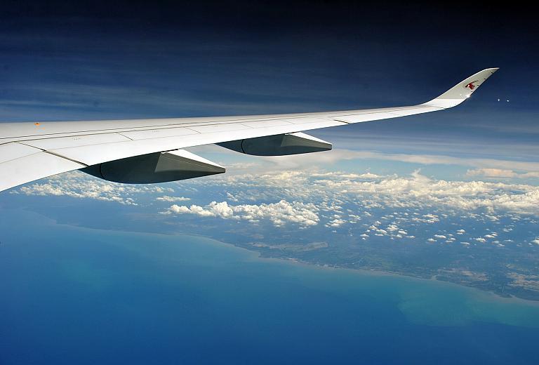 В Город Будущего на Самолёте Будущего с Qatar Airways. Часть 2. DOH-SIN на Airbus А350-900XWB.