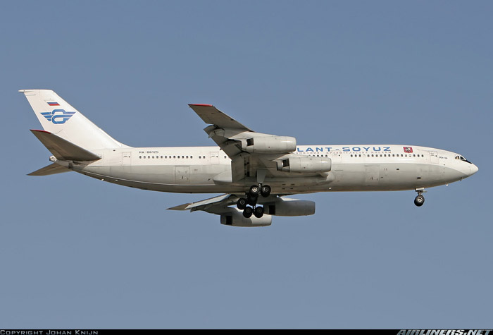 Вспоминая Атлант-Союз: Сочи-Москва на Ил-86