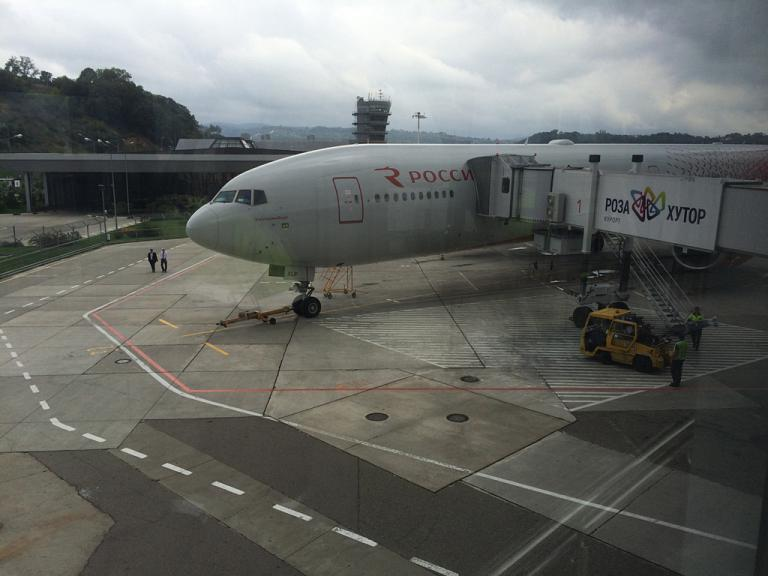 Сочи - Москва (Внуково) на Boeing 777-300 авиакомпании Россия