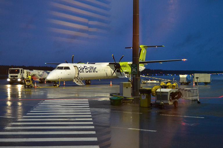 Скандинавия 2019 ч2. Рига (RIX) - Стокгольм (ARN) AirBaltic.