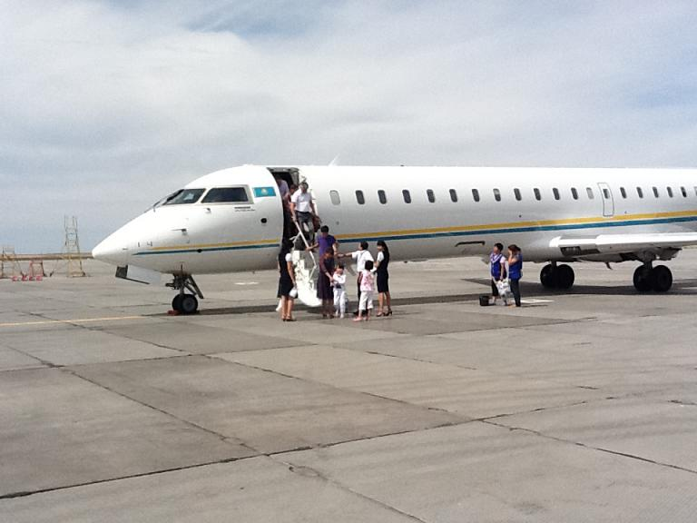 Фотообзор аэропорта Актобе