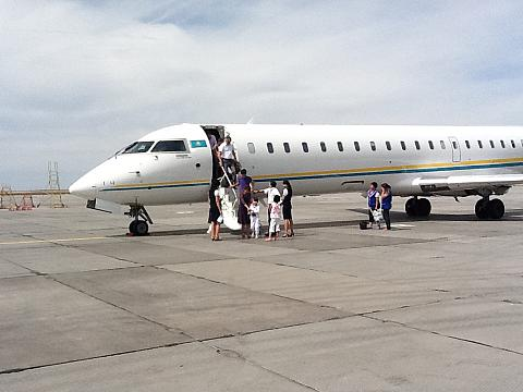 Фотообзор авиакомпании СКАТ (SCAT)