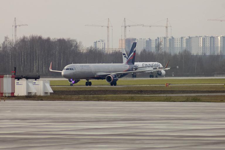 Новый A321SL. Санкт-Петербург - Москва SU15 Аэрофлот