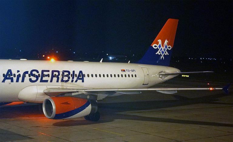 Belgrade - Moscow JU656 Air Serbia