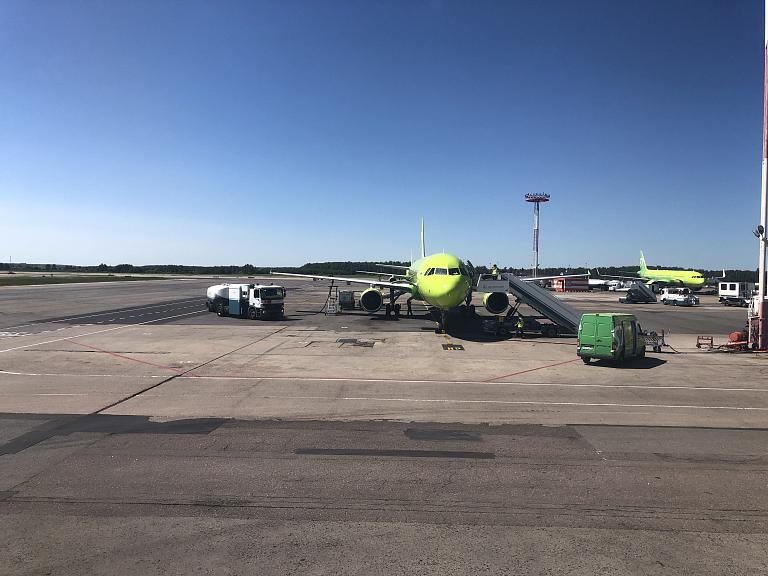 Москва - Олбия S7 А-320 бизнес
