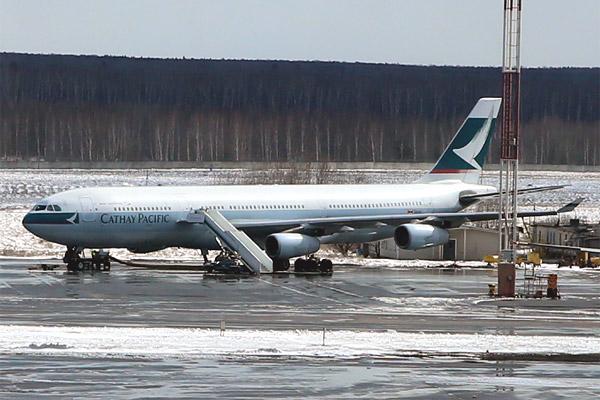 Фотообзор полета на самолете Airbus A340-300
