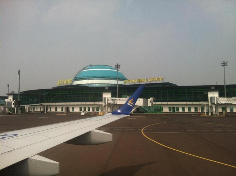 Костанай - Астана  с Air Astana
