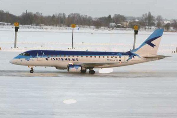 Киев-Таллинн на Embraer 170 а\к Estonian Air