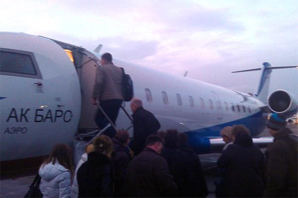 АК БАРС АЭРО: Санкт-Петербург - Казань и обратно