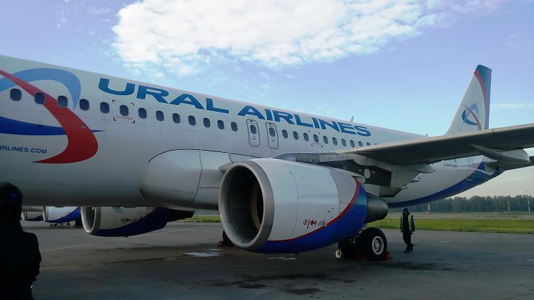 Уральскими авиалиниями из Москвы в Калининград