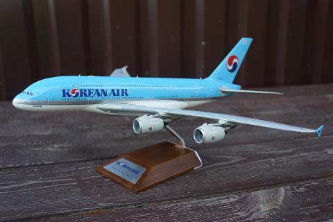 "Обзор модели ""JC Wings"" 1/200 авиакомпании ""Korean Air"" Airbus A380"