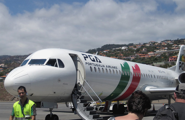 Funchal-Lisbon-Moscow with TAP Portugal. Voa mais alto - Fly higher!