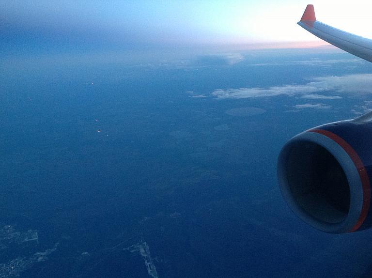 Перелет из Калининграда в Хабаровск через Москву c Аэрофлотом. Часть 2.