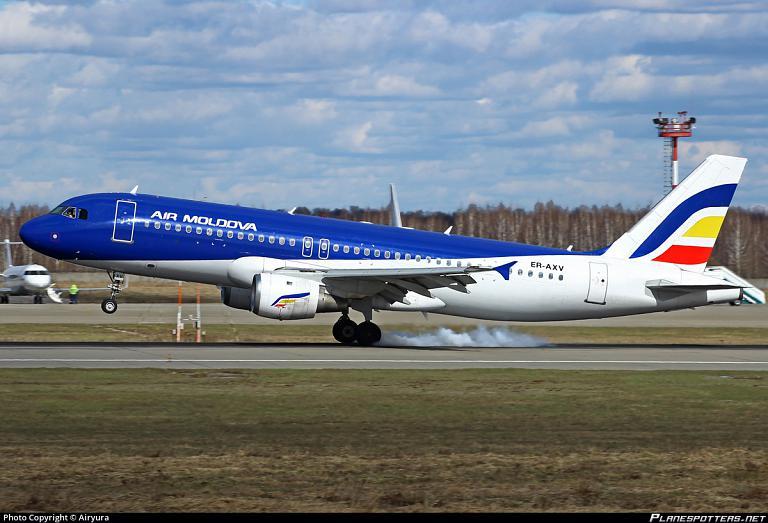 Фотообзор авиакомпании Эйр Молдова (Air Moldova)