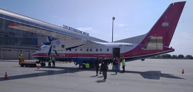Фотообзор полета на самолете Антонов Ан-140