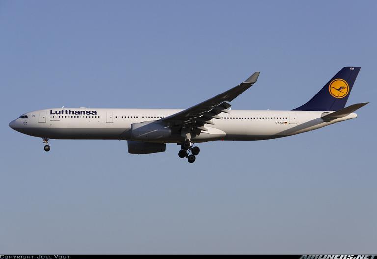 Сказочная Британия: LH1441 DME-FRA A330 Business