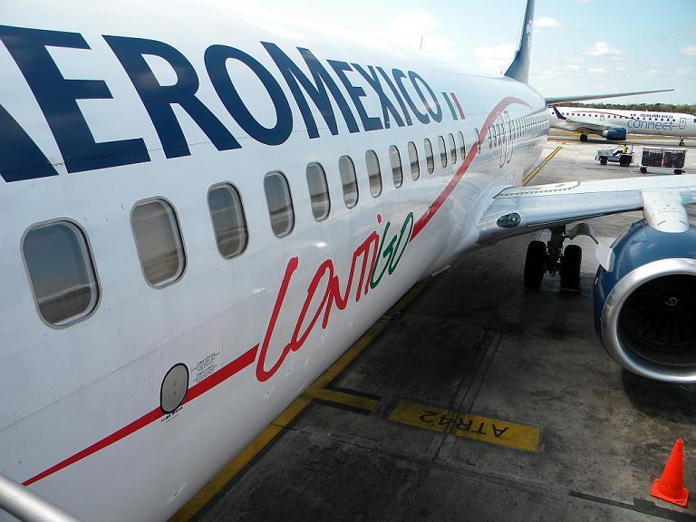 Фотообзор авиакомпании Аэромексика (Aeromexico)