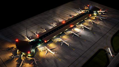 Новый макет аэропорта 1/400 от Gemini Jets