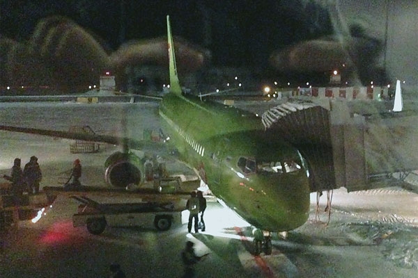 Фотообзор аэропорта Норильск Алыкель