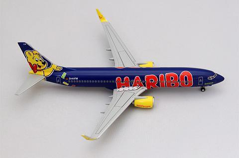 Herpa: Boeing 737-800 в масштабе 1:200