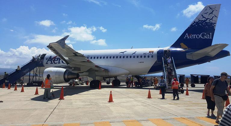 Фотообзор аэропорта Кито Марискал Сукре