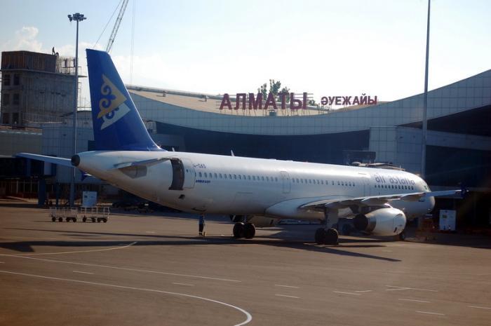Авиакомпания Эйр Астана рейс Алматы-Санкт-Петербург