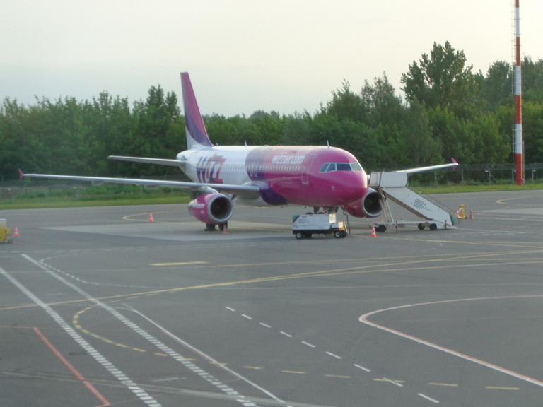 Вильнюс-Эйндховен с а/к Wizz Air, или