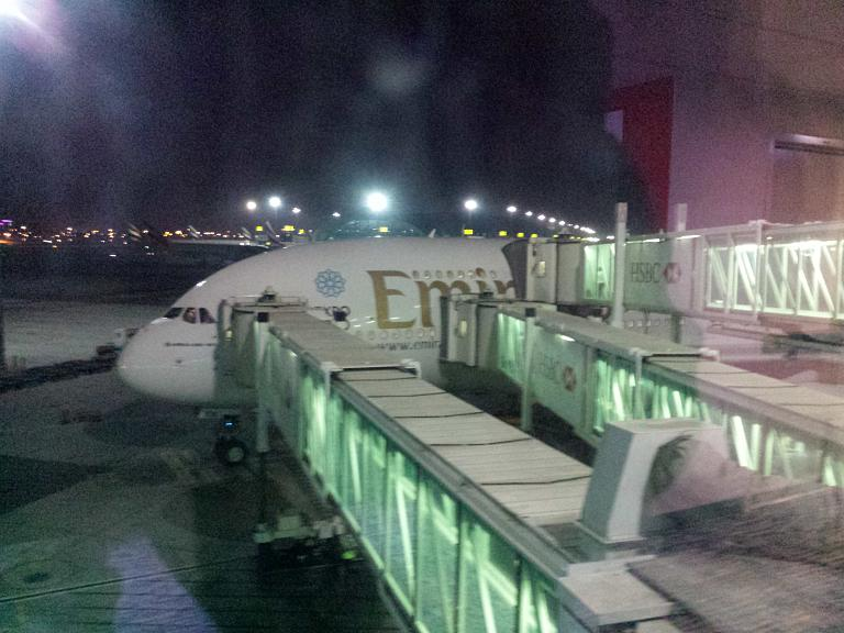 Путешествие с Эмирейтс и не только. Часть 2 Дубай(DXB) - Бангкок(BKK)