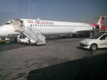 Тегеран-Мешхед с ATA Airlines на MD83